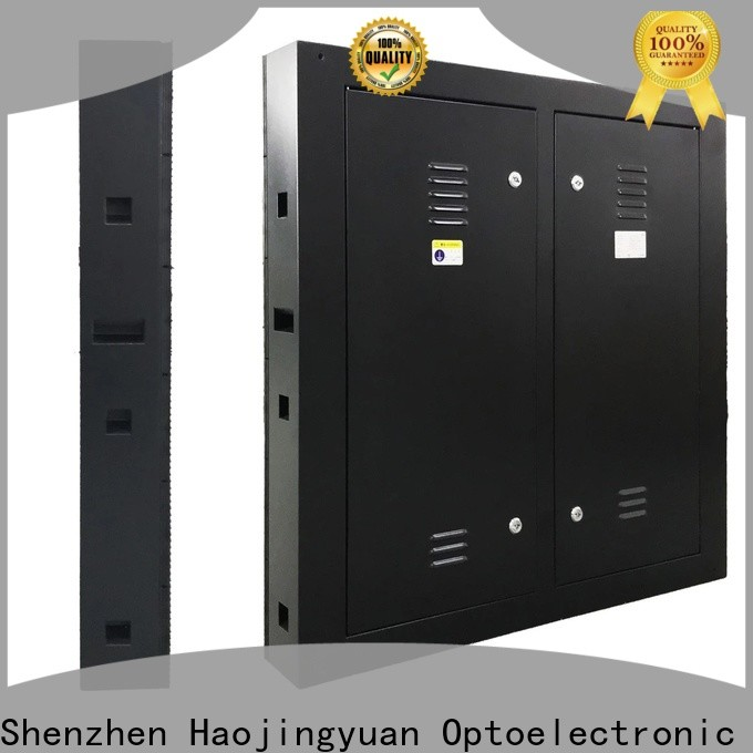 Haojingyuan Latest led display screen Suppliers for lobby