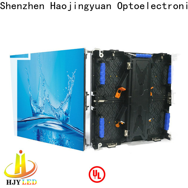Haojingyuan Best stage led display Supply for shopping mall