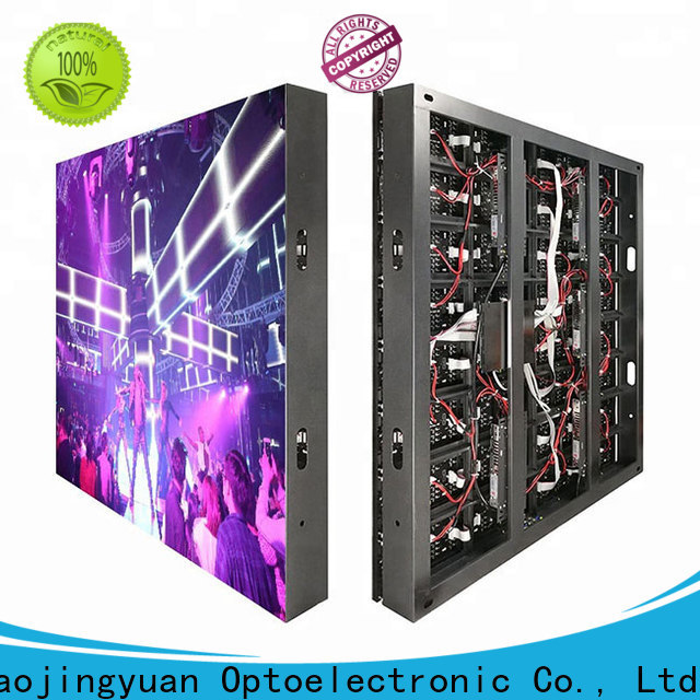Haojingyuan Top indoor led display for business for hotels