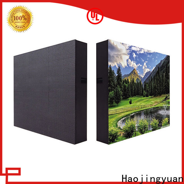 Haojingyuan display LED fixed factory for hotels