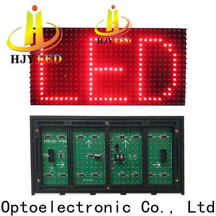 Haojingyuan outdoor led module factory for wall