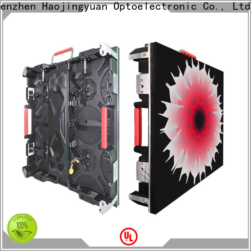 Haojingyuan Top custom led screen Suppliers for building