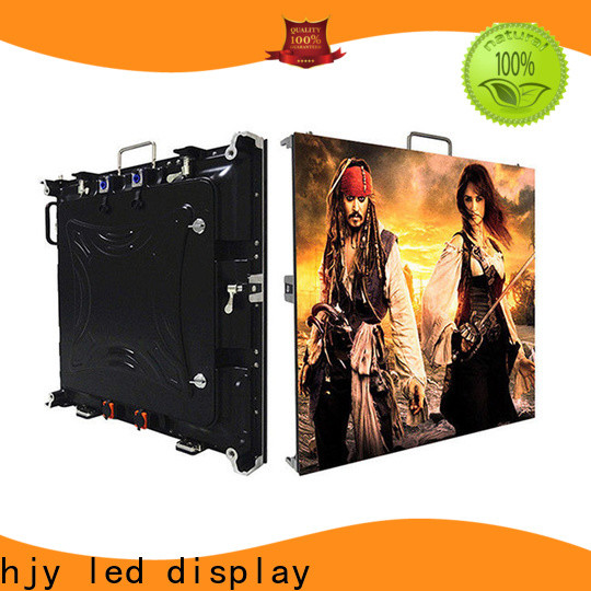 Haojingyuan outdoor display screens for business for building