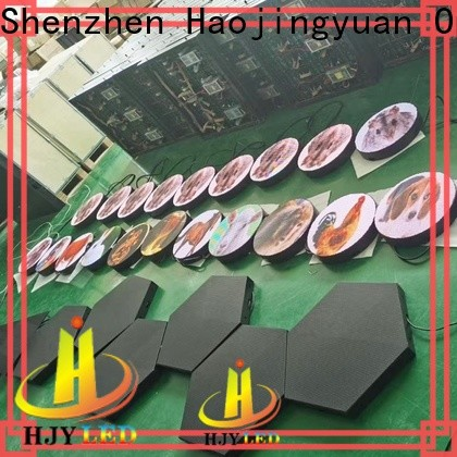 Haojingyuan mobile led display Supply for school