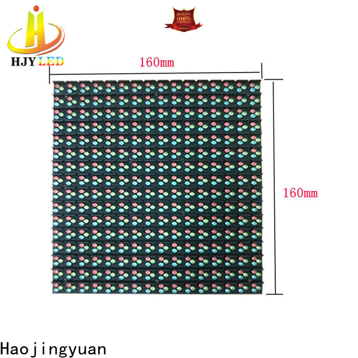 Haojingyuan New led display screen factory for lobby