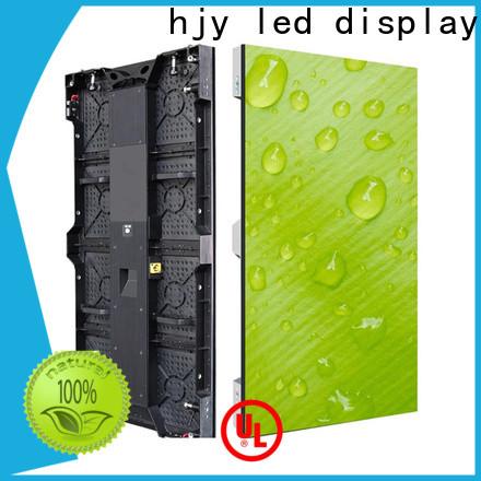 Haojingyuan New video screen wall factory for concert