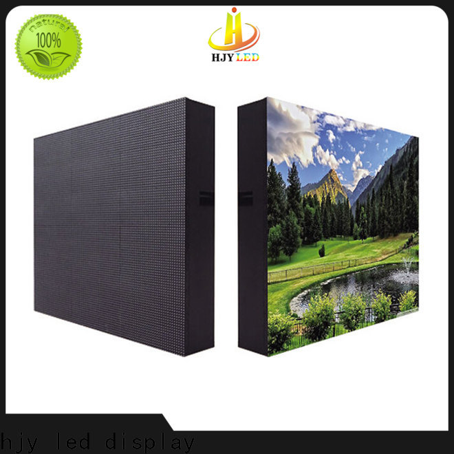 Haojingyuan High-quality led display fixed manufacturers for hotels