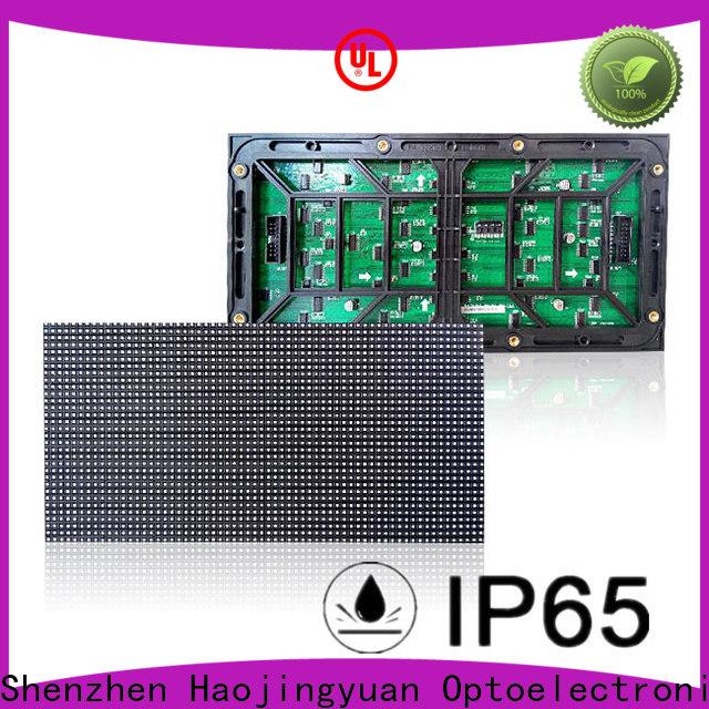 Haojingyuan Wholesale p10 module company for cafeteria