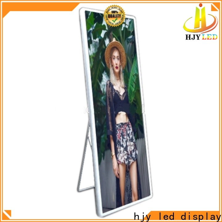 Haojingyuan poster led display manufacturers for street