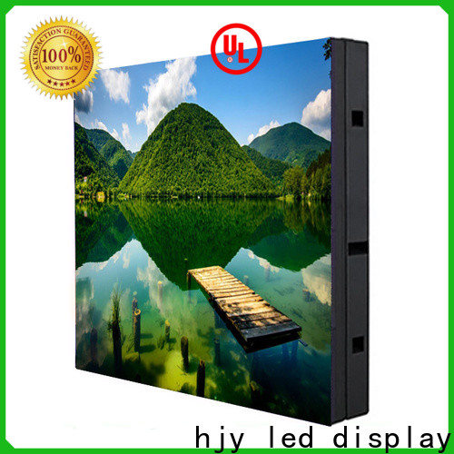 Latest advertising led display fixed Supply for school