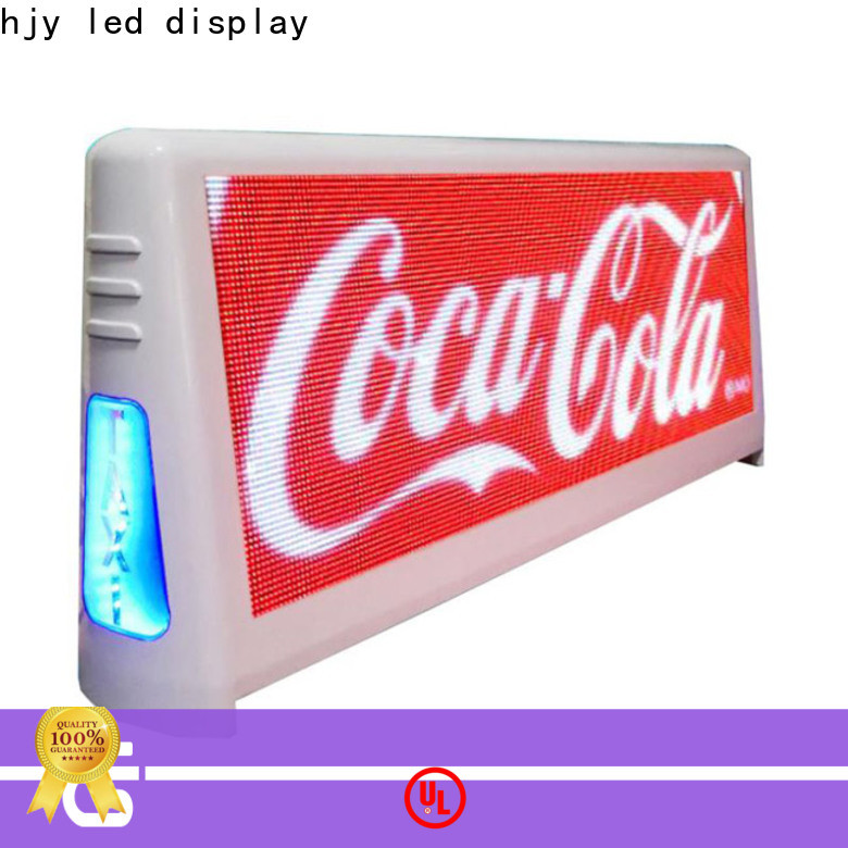 Haojingyuan Best taxi top light manufacturers for wedding