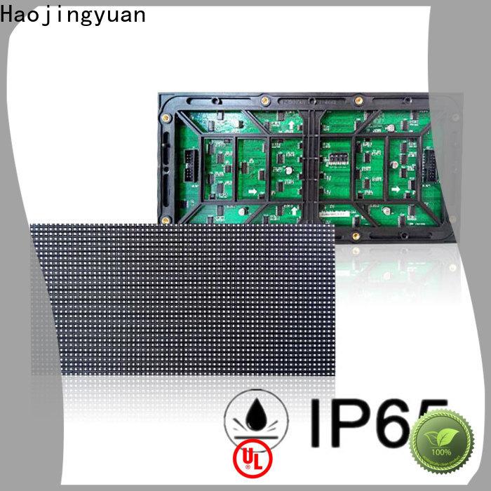 Haojingyuan p4 led module factory for cafeteria