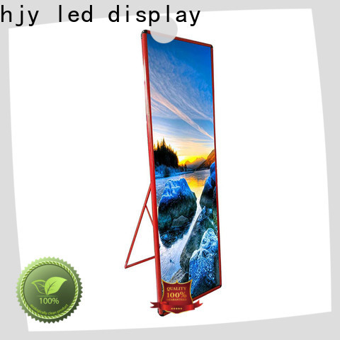 Latest poster led display factory for stadium