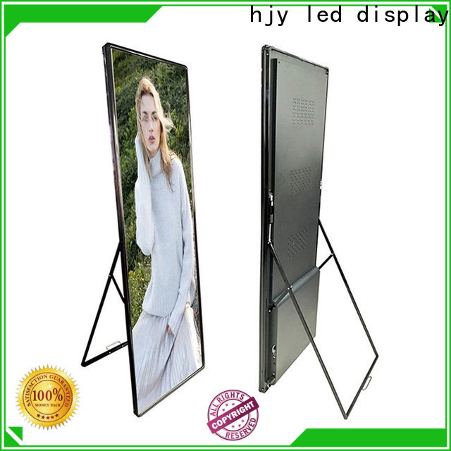 Haojingyuan truck mobile led display for business for school