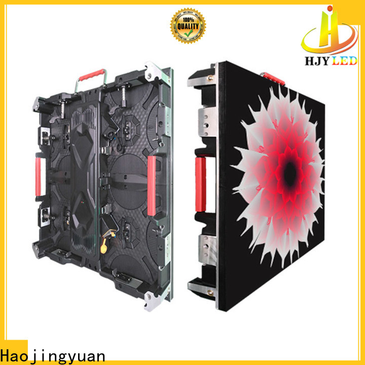 Haojingyuan Custom large digital screens for business for taxi