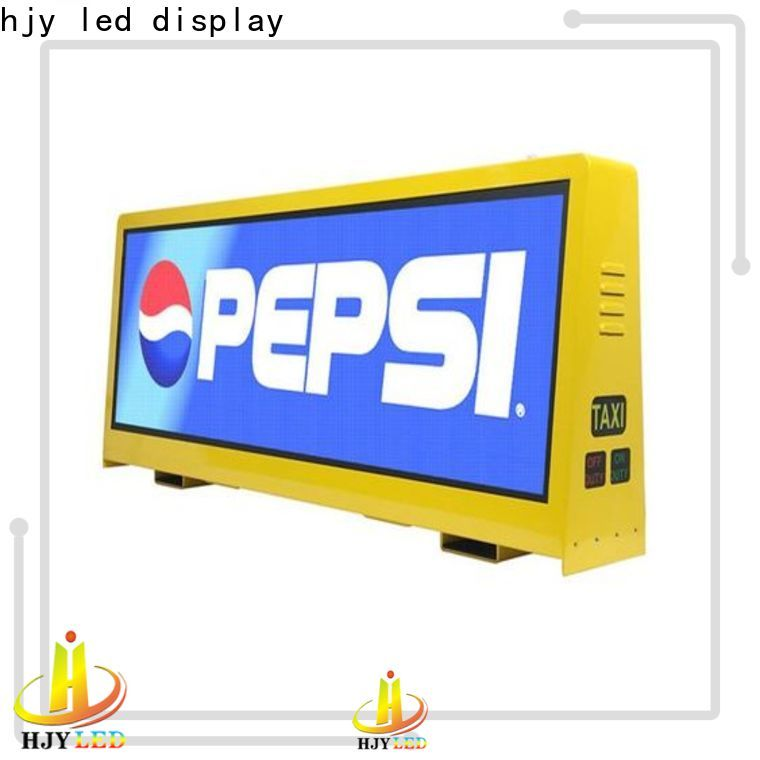 Haojingyuan Best roof led display manufacturers for shopping mall