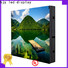 Haojingyuan Top waterproof led display board manufacturers for hotels