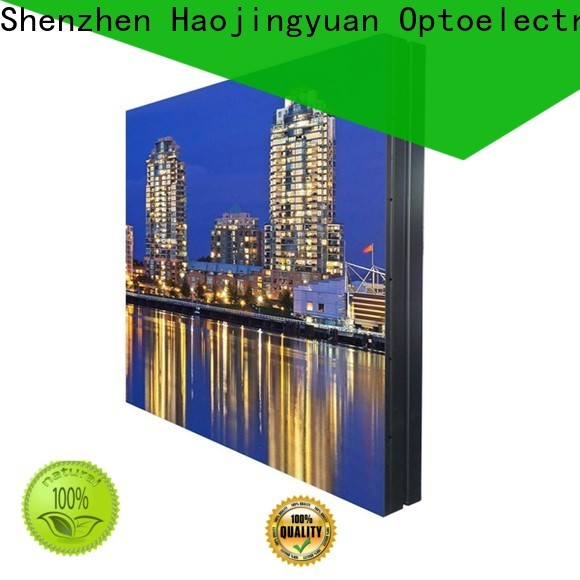 Haojingyuan led video wall Suppliers for lobby