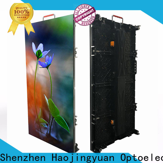 Haojingyuan display panel led company for concert