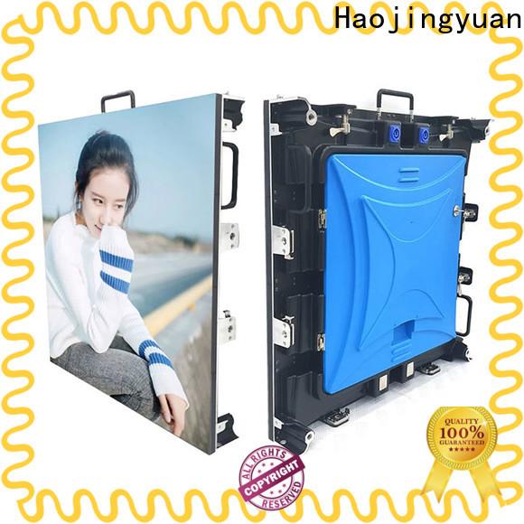 Haojingyuan Custom hd led display manufacturers for concert