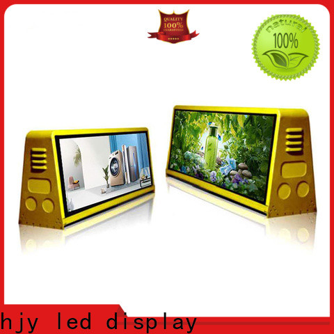 Haojingyuan truck advertising mobile led display Supply for for house
