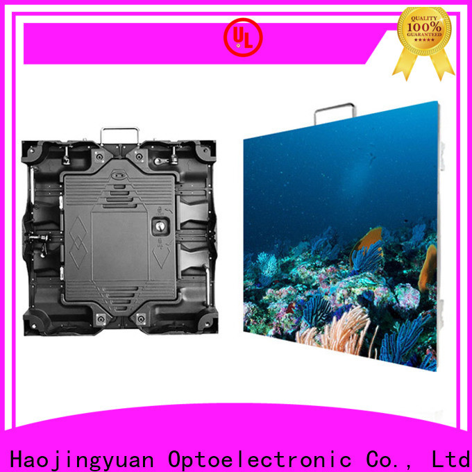Haojingyuan led video screen manufacturers for taxi