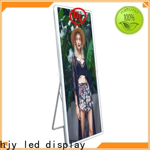 Top mirror led display for business for air port