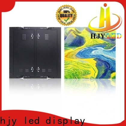 Haojingyuan led video wall manufacturers for school