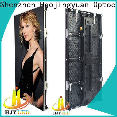 Haojingyuan stage led video wall company for shopping mall
