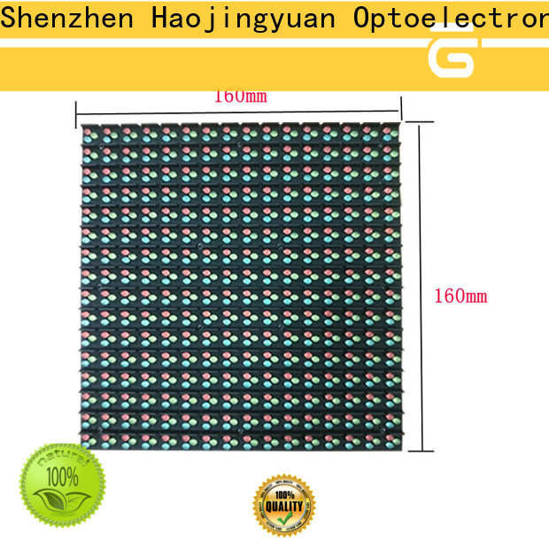 Haojingyuan Wholesale indoor led display Supply for hotels