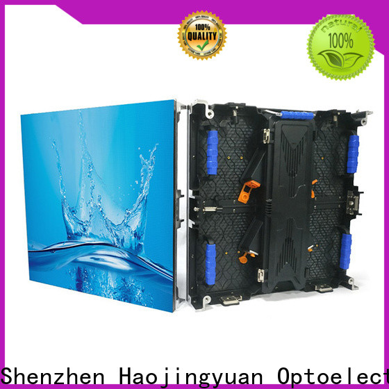 Haojingyuan concert video wall manufacturers for shopping mall