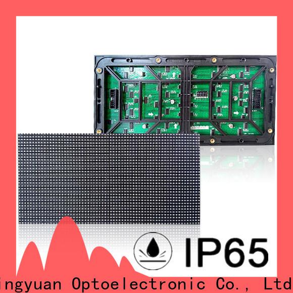 Haojingyuan Latest full color led display module company for street