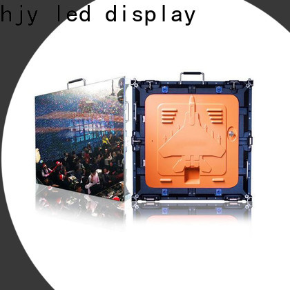 Latest led display resolution factory for building