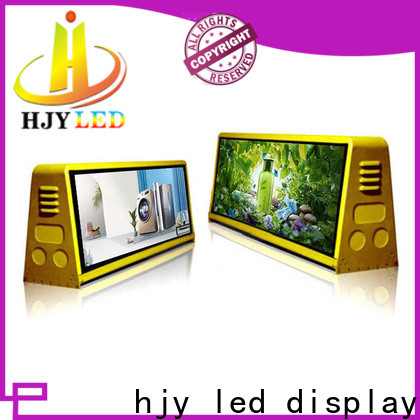 Haojingyuan High-quality truck led display Suppliers for school