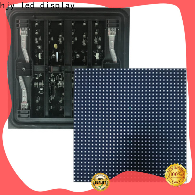 Haojingyuan Best led display module panel factory for wall