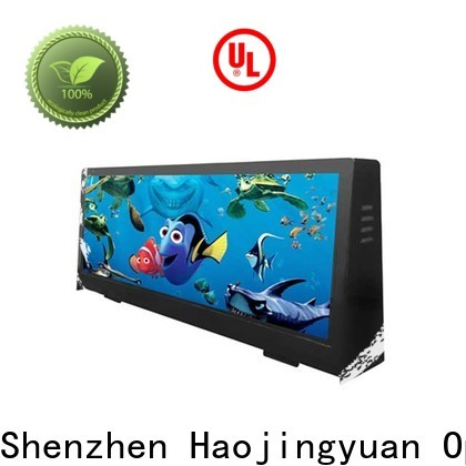 Haojingyuan taxi roof led display manufacturers for wedding