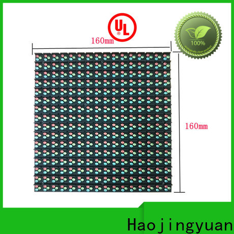 Haojingyuan Wholesale indoor fixed led display manufacturers for school
