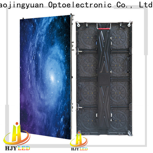 Haojingyuan Top indoor led screen company for shopping mall