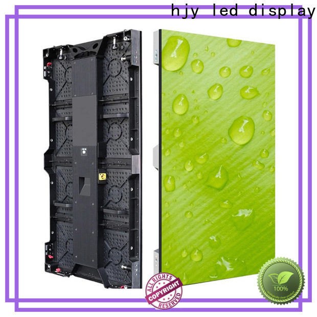 Haojingyuan led panels for stage factory for shopping mall