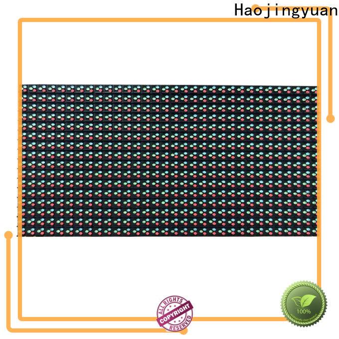 Haojingyuan p10 module factory for street