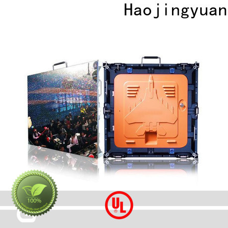 Haojingyuan flexible led display screen company for building
