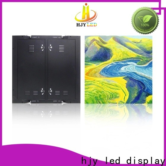 High-quality outdoor fixed led display company for school