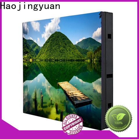 Haojingyuan led display sign led fixed for business for school