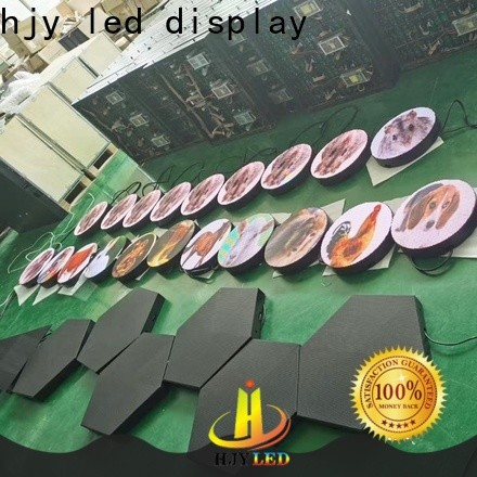 New mobile led display company for birthday party