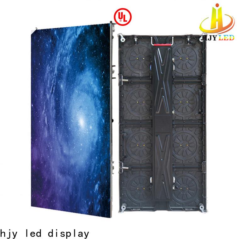 Haojingyuan flexible led display panels factory for stadium