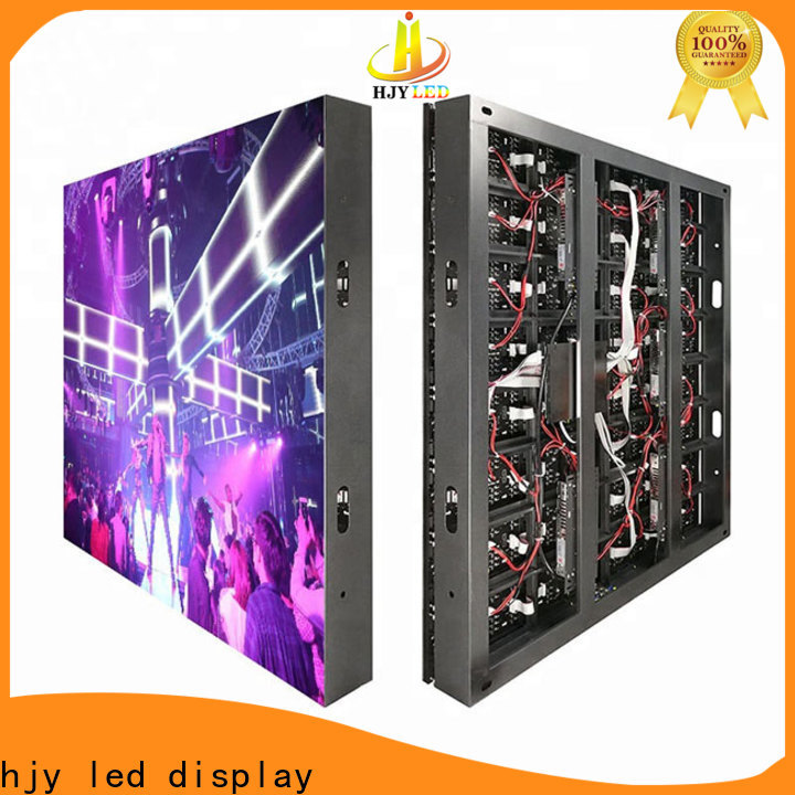 Top advertising led display fixed factory for lobby