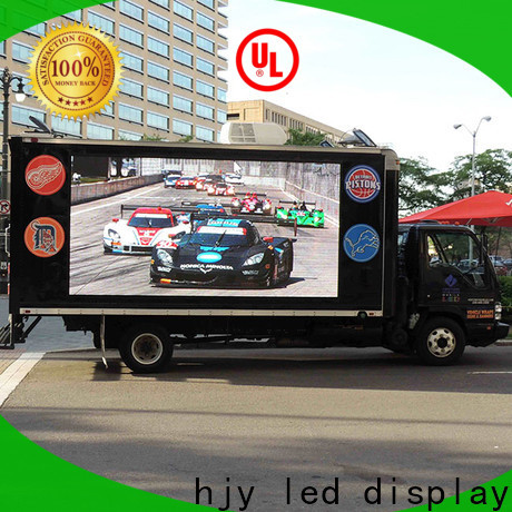 Haojingyuan truck led display Supply for for house