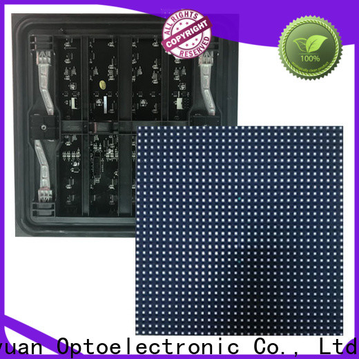 Haojingyuan Top p10 led display module factory for cafeteria