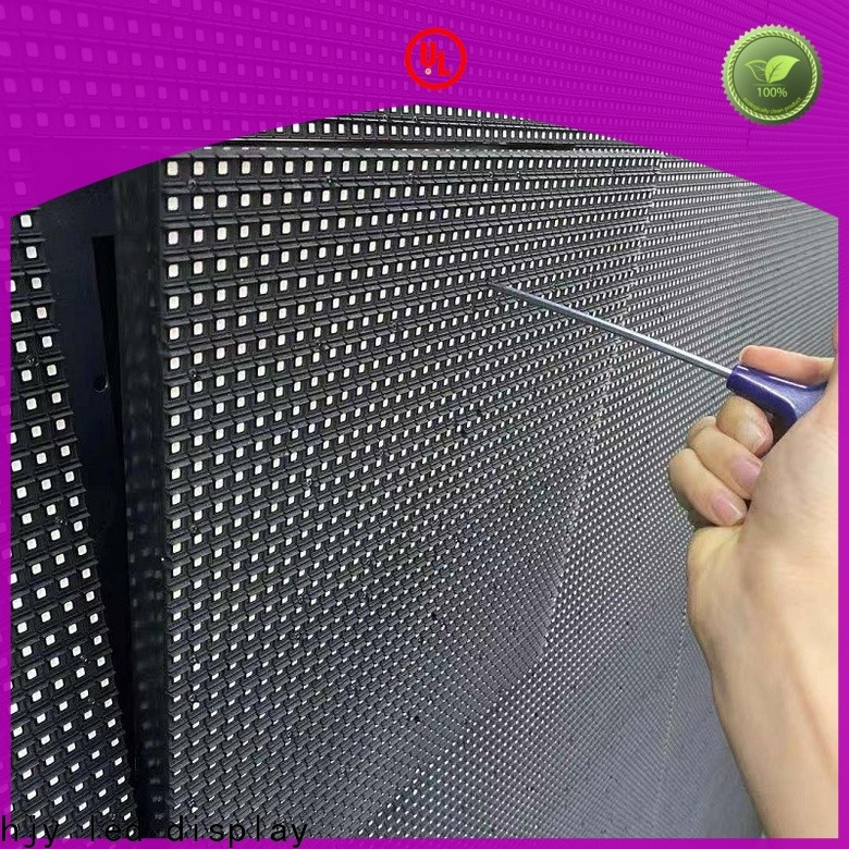 Haojingyuan Custom led wall panel for business for hotels