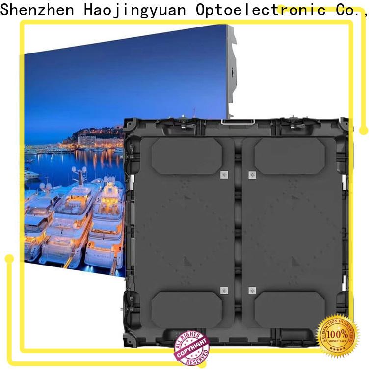 Haojingyuan Top stadium led screen manufacturers for salon